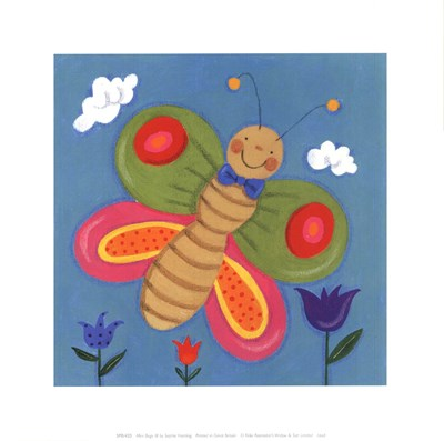 Mini Bugs III art print by Sophie Harding for $12.50 CAD