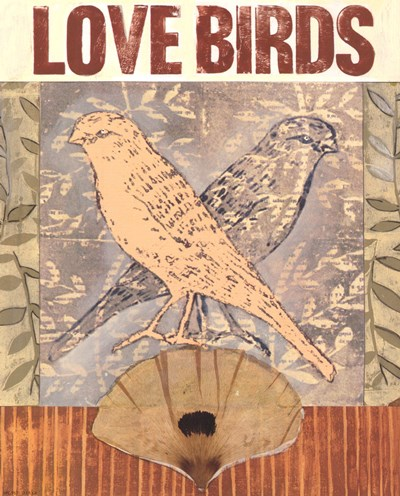 Love Birds I art print by Meredith Macleod for $16.25 CAD