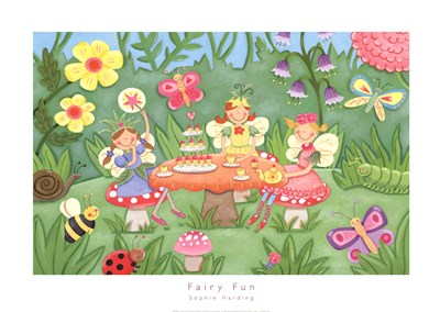 Fairy Fun art print by Sophie Harding for $60.00 CAD