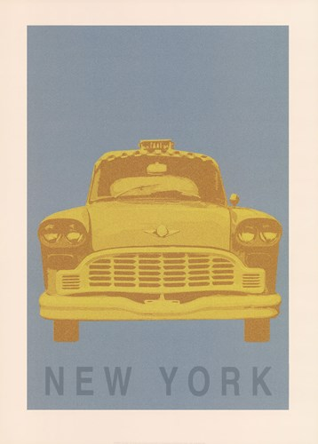 New York - Cab art print by Ben James for $60.00 CAD