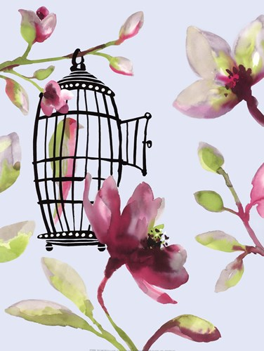 Bird Cage II art print by Sandra Jacobs for $60.00 CAD