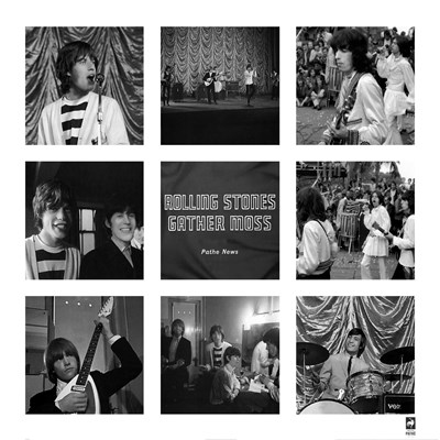 Rolling Stones Gather Moss art print by British Pathe for $75.00 CAD