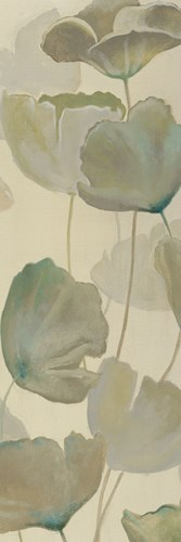Poppy Impression Panel II art print by Georges Generali for $66.25 CAD