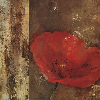 Gilded Floral III art print by Georgie for $78.75 CAD