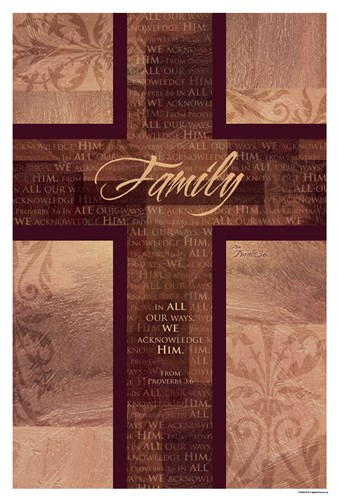 Family art print by CTArt for $18.75 CAD
