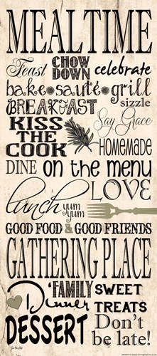 Mealtime art print by Jo Moulton for $15.00 CAD