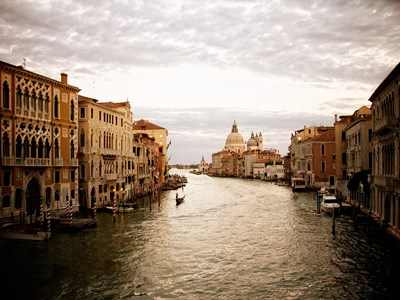 Venetian Canals I art print by Emily Navas for $17.50 CAD