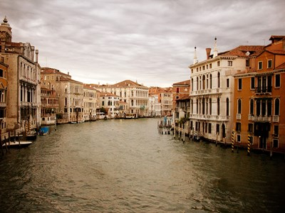 Venetian Canals II art print by Emily Navas for $17.50 CAD