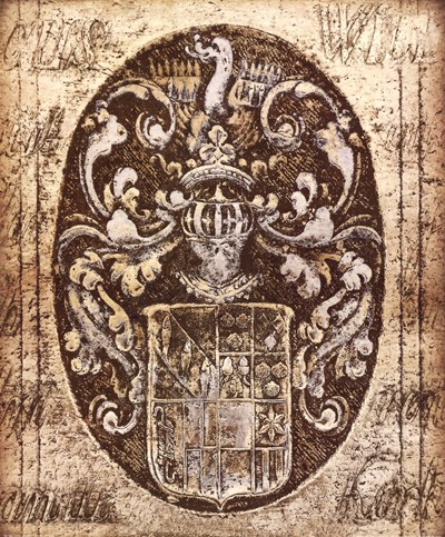 Coat of Arms I art print by Russell Brennan for $47.50 CAD